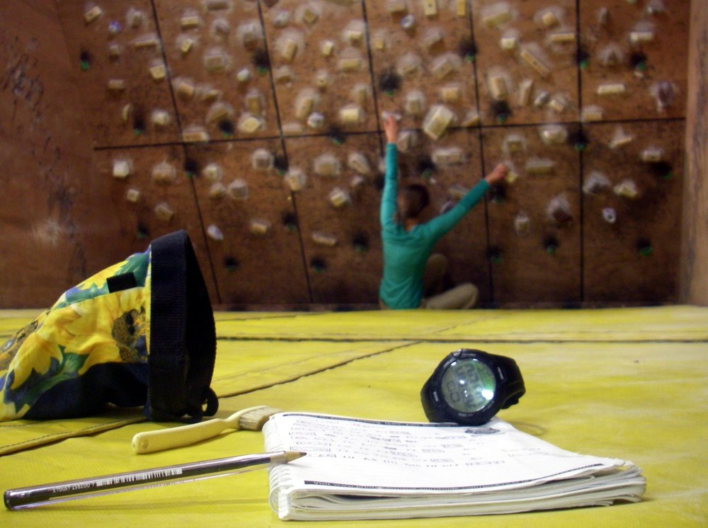 Super-organised indoor sessions are seriously time efficient. © UKC Articles