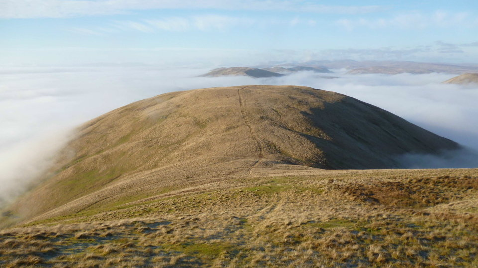 Linghaw 498.8m (its been surveyed!), in the Howgills, 99 kb