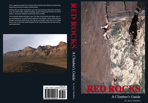 Red Rocks - A Climber's Guide cover photo, 38 kb