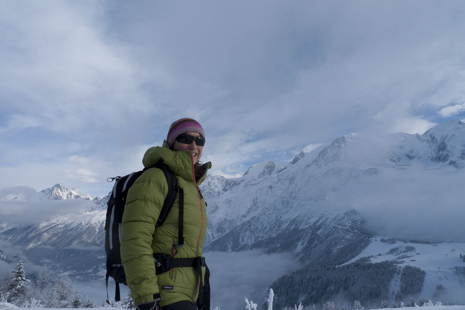 Emily Andrew in the Jottnar Fjorm Down Jacket, 81 kb