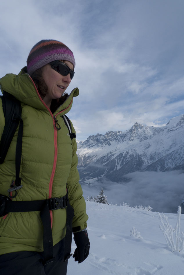 Emily Andrew in the Jottnar Fjorm Down Jacket, 85 kb