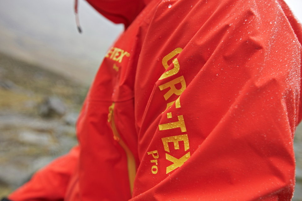 The new generation of Gore-Tex Pro launched at Plas y Brenin, 93 kb