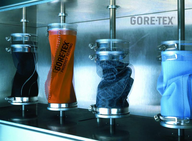 Various Gore-Tex fabrics undergoing a crumple test, 253 kb