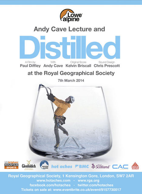 Premier Post: Andy Cave Lecture at the RGS, London - 7th March, 51 kb