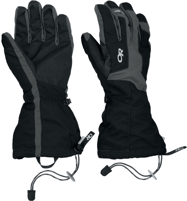 Outdoor Research Arete glove, 159 kb