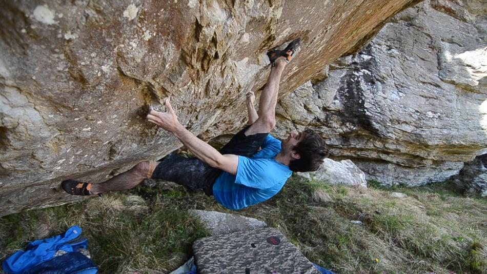 Funky sequences on Marratime, 8A+, Arrochar Alps, 123 kb
