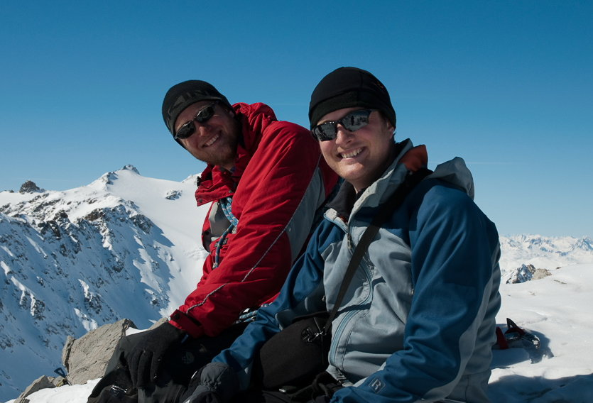 Alasdair (left) and Stuart Buchanan , 91 kb