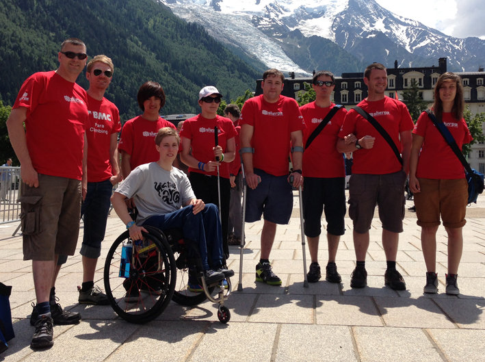 The GB Para Climbing Team, 117 kb