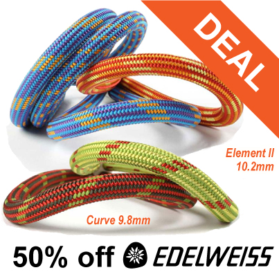 Edelweiss Ropes Half Price at Outside.co.uk