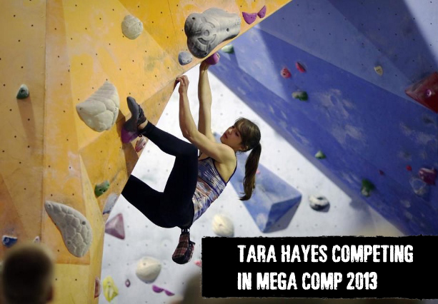 Tara Hayes competing in Mega Comp 2013