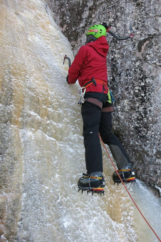 Ice climbing in the Bergelmir and Vanir, 136 kb
