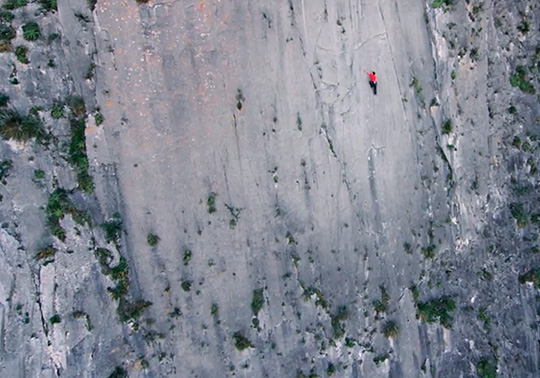 Alex Honnold on El Sondero Luminoso, 500m 7c - Solo..., 91 kb