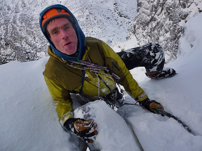 Tim Neill happy after one of the team's best days out in winter., 129 kb