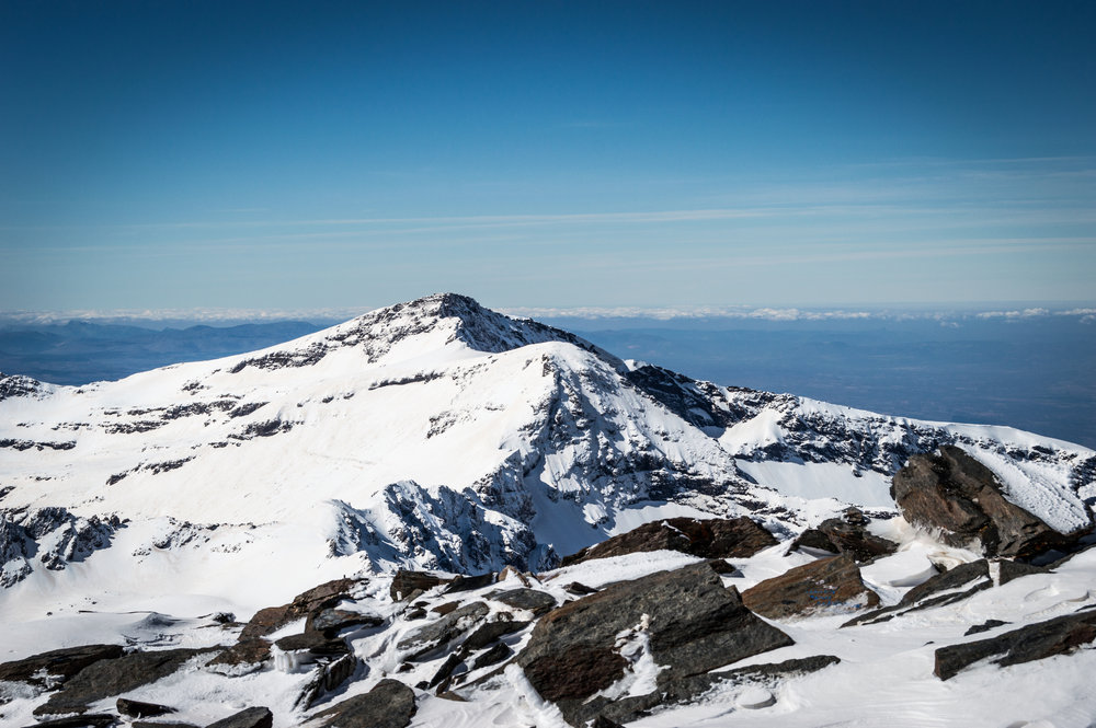 summit view from mulhacen, 145 kb