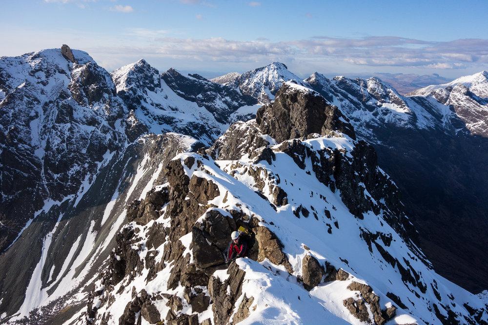 Climbing Sgurr Thearlaich, 263 kb