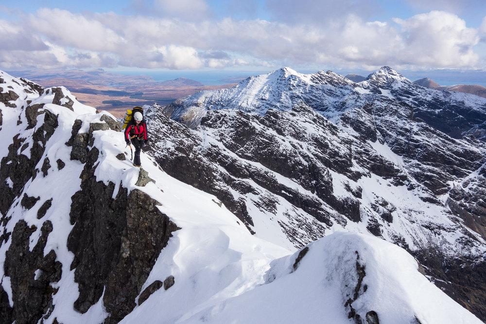 An amazing ridge..., 230 kb