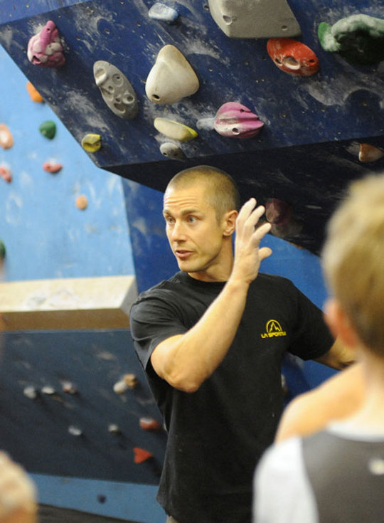 Neil Gresham delivering a Masterclass at Kendal Wall, 90 kb
