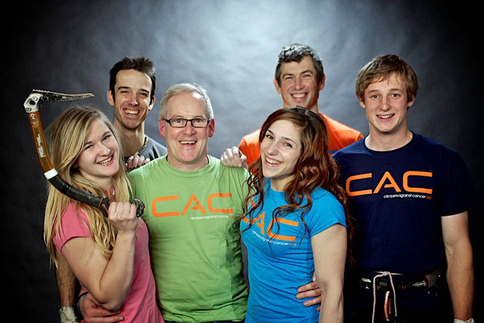 John Ellison with Shauna Coxsey, Tom Randall, Alex Puccio, Andy Turner and Pete Whittaker, 117 kb