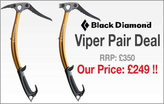 Urbanrock - DEAL OF THE MONTH - Black Diamond Viper Pair Deal