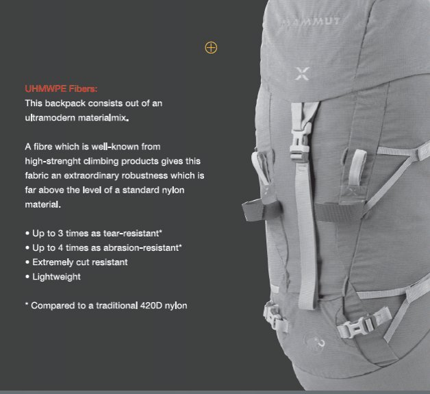 Mammut Extreme Pack, 44 kb