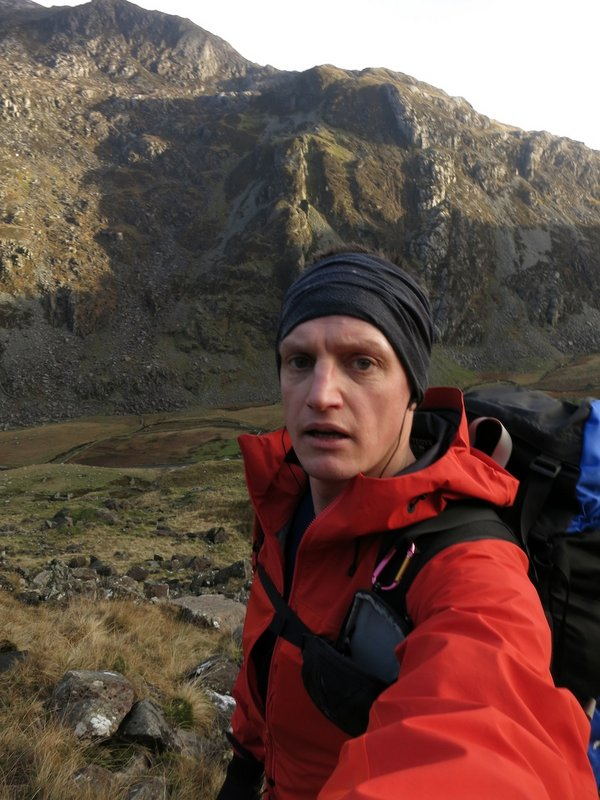 Testing the breathability on the sweaty slog up to Grib Goch, 97 kb