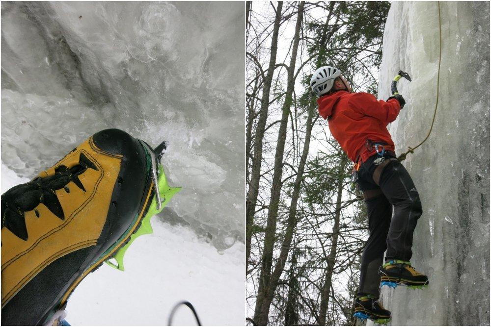 Mono points, best on steep, complex ice, 152 kb