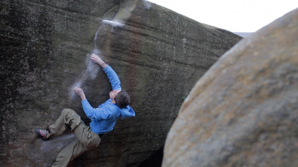 Eliot Stephens on Brad Pit, 7C, Stanage Plantation, 107 kb