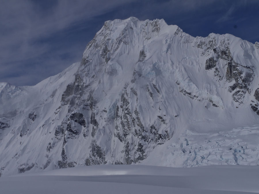 The east face of Mount Laurens, 3,052m, 94 kb