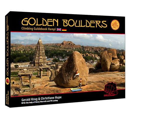 Golden Boulders - Climbing Guidebook Hampi, 164 kb
