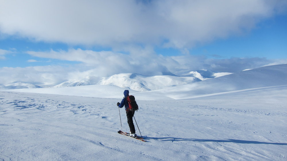 On the round of the Drumochter munros, 84 kb