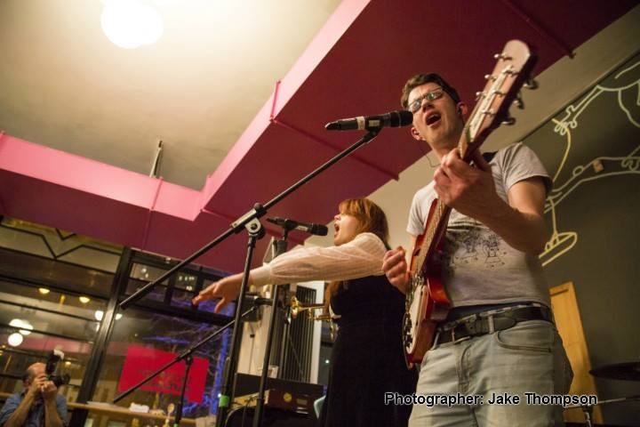 ShAFF 2014 - There was some great music in the Showroom bar, 43 kb