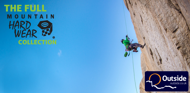 The Full Mountain Hardwear Collection, now available at Outside.co.uk