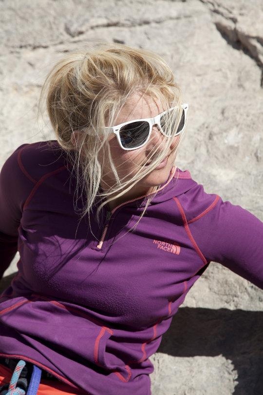 Hazel Findlay at Terradets, Spain, 111 kb
