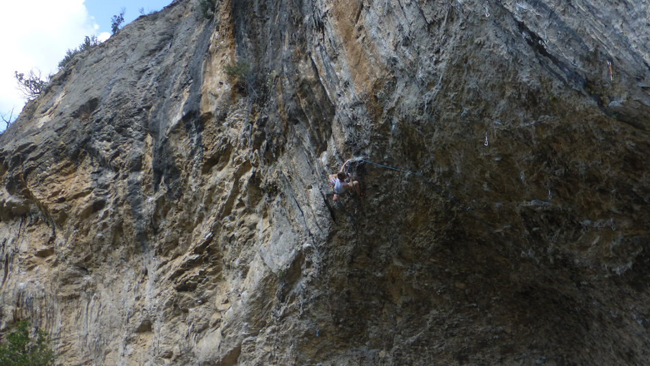Pete Dawson on Non Stop, 8b, Terradets, 176 kb