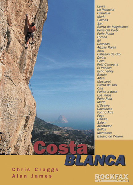Costa Blanca Rockfax Cover, 80 kb