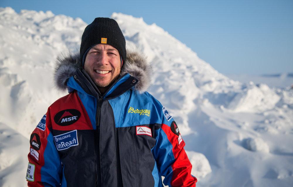 MSR®-Sponsored Polar Adventurer Eric Larsen, 131 kb
