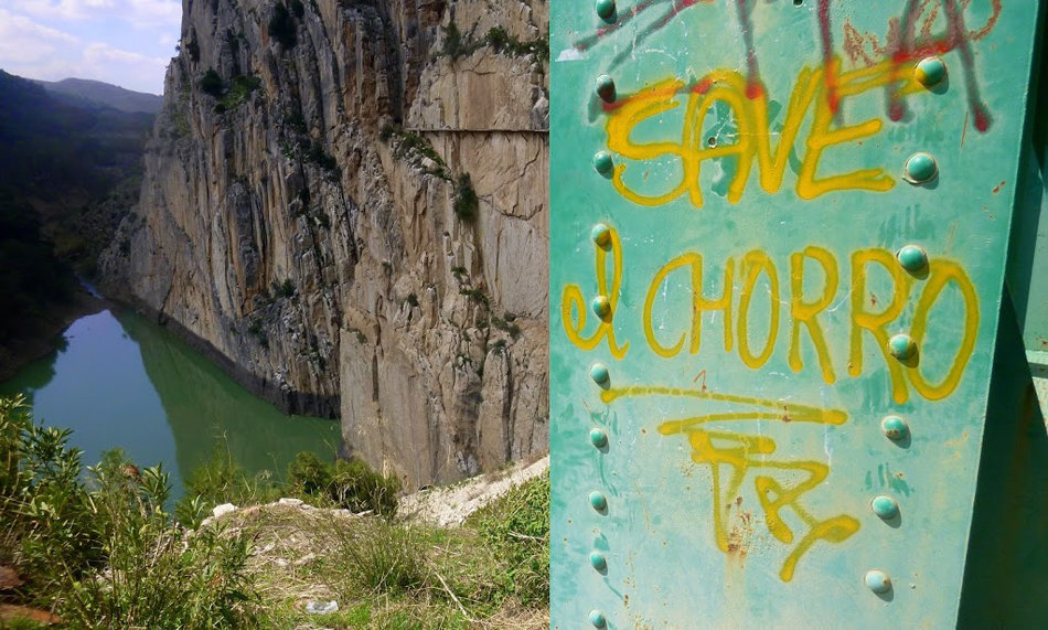 Save El Chorro Graffiti (This has been there for years), 179 kb