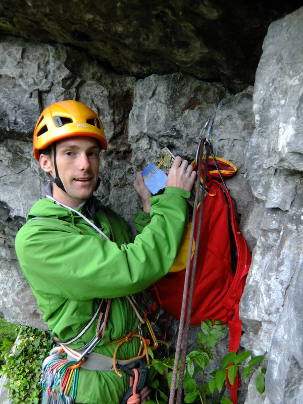 Testing the DMM Zenith out on Peak Limestone, 164 kb