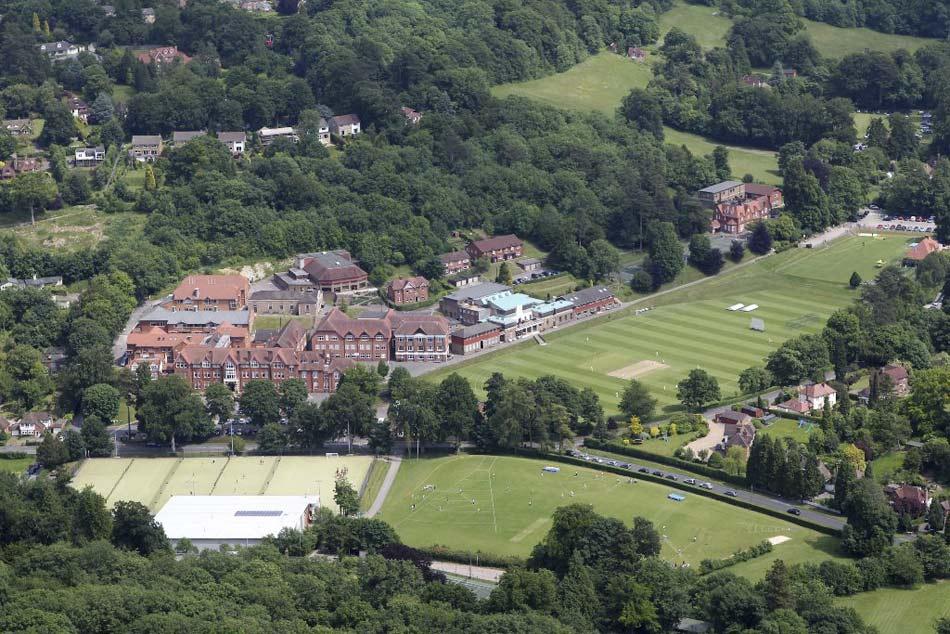 Caterham School Sports Centre, 122 kb