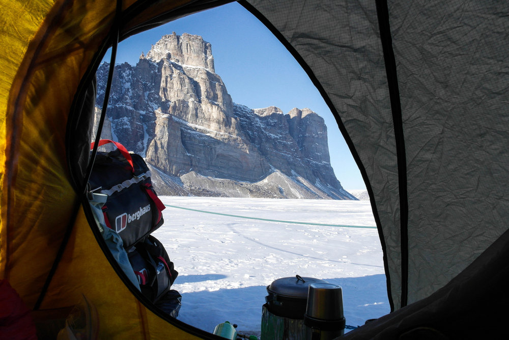Views from the Tent on Baffin Island, 172 kb