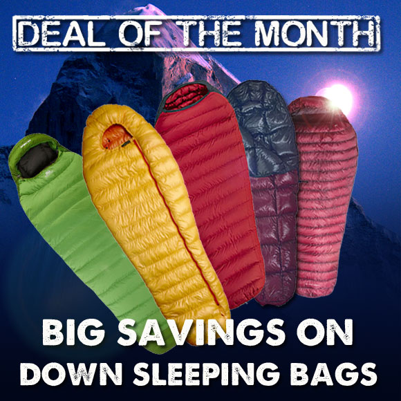 TCS Deal of the Month - Sleeping Bags, 100 kb