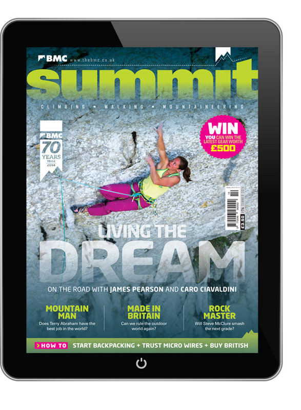 Summit magazine: now free to download for all BMC members, 146 kb