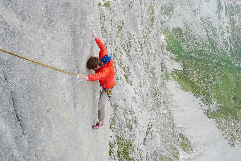 The second pitch of Silbergeier - a bold 7c+, 222 kb