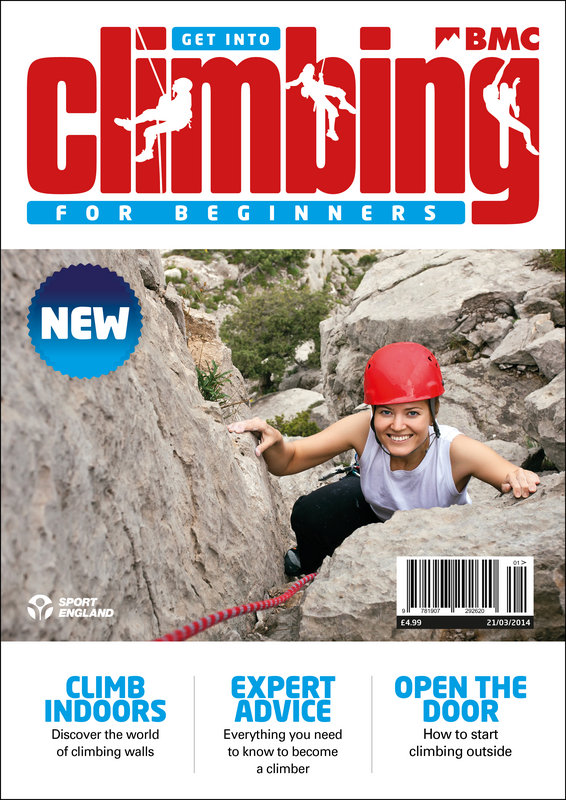 Special edition magazine for new climbers, 144 kb
