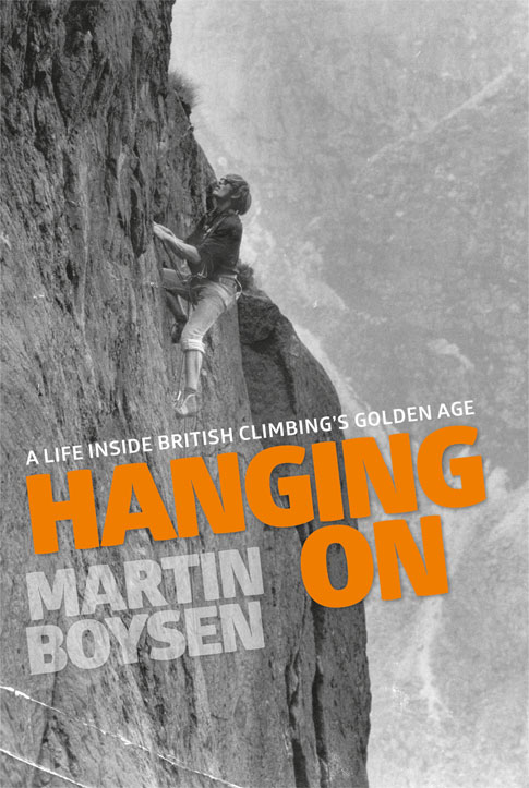 Hanging On, Martin Boysen's new biography, 83 kb