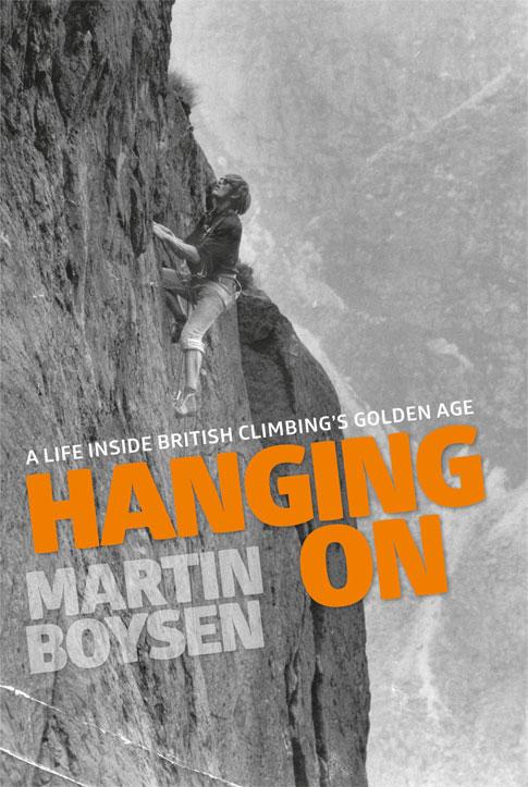 Hanging On, Martin Boysen's new biography, 83 kb