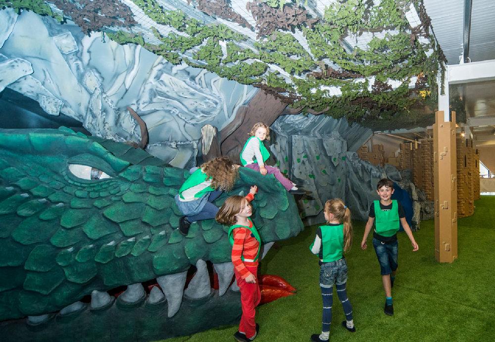 King Kong Climbing Centre Kids Hard Play Area