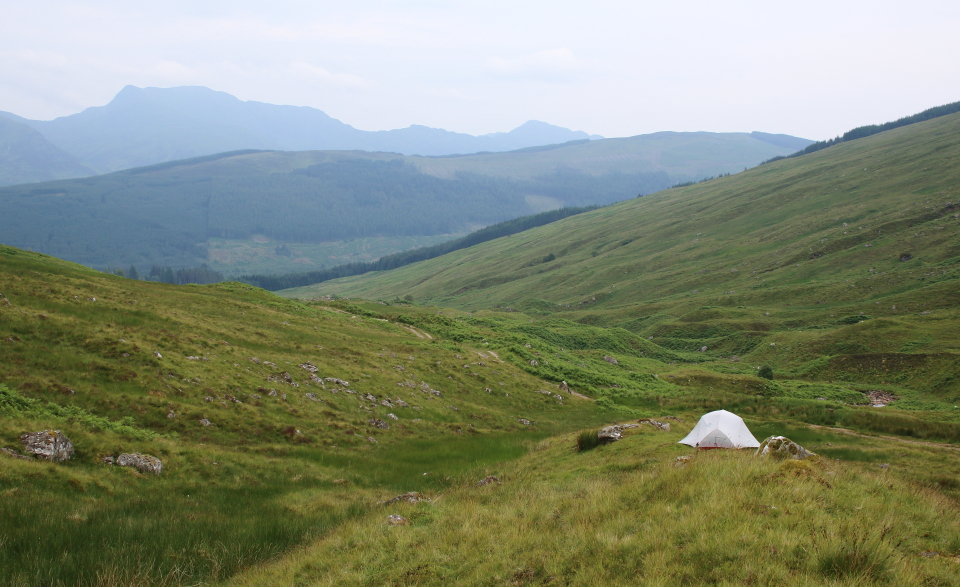 Camp under Creag Mac Ranaich, 119 kb
