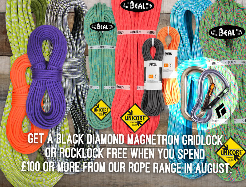Free Black Diamond Magnetron Karabiner with ropes over £100, 232 kb