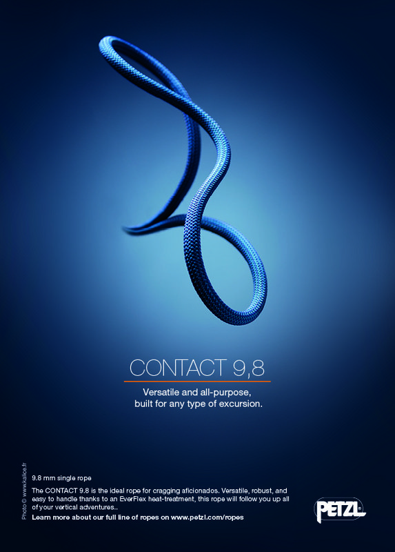 Petzl Contact 9.8mm Rope, 162 kb